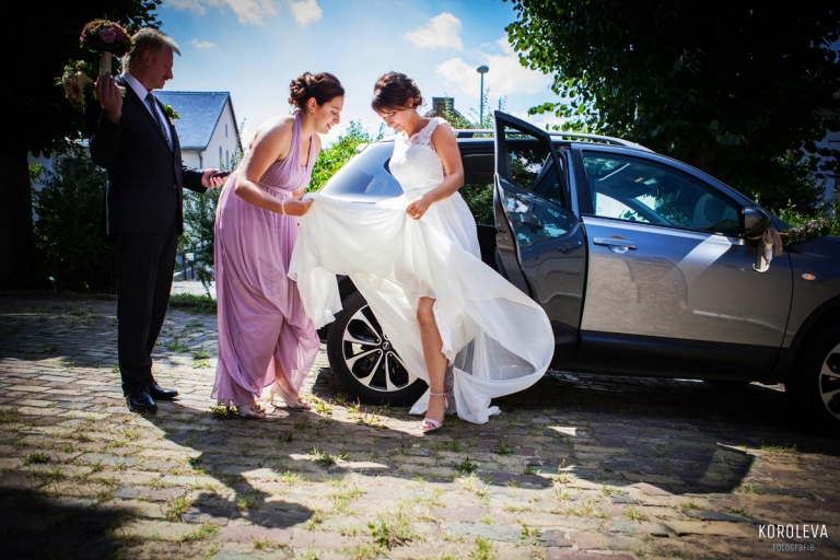 Kirche Trauung Hochzeit Hochzeitsfotograf Goetz