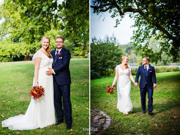Brautppar Shooting Hochzeitsfotograf Nauen Landgut Stober