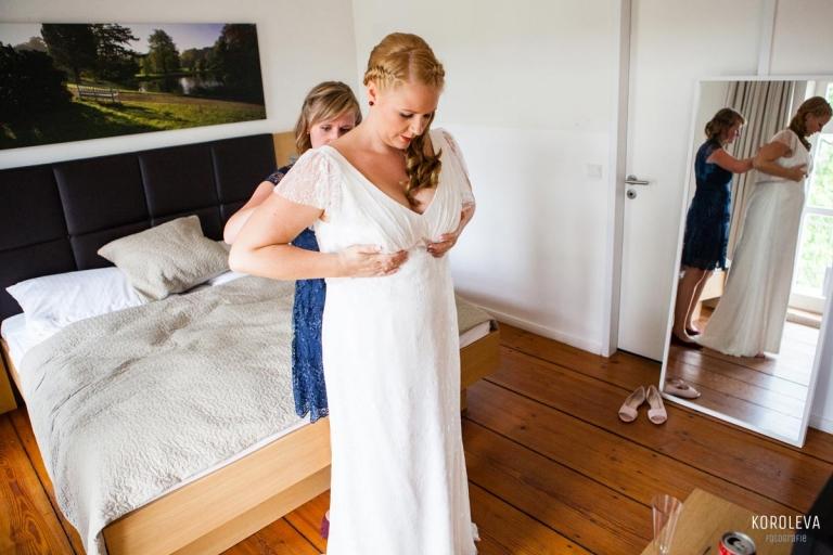 Braut Hochzeitsfotograf Nauen Landgut Stober