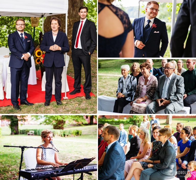 Stober Landgut Hochzeitsfotograf Nauen Trauung