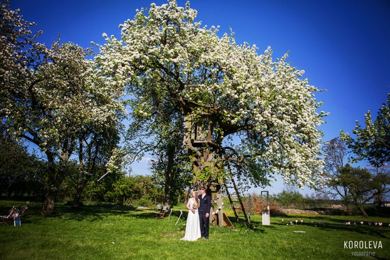 Hochzeitsfotograf Gutshaus Lexow Brautpaar