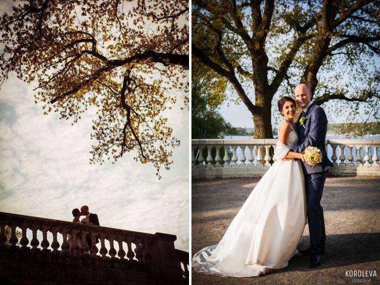 Hochzeitsfotograf Berlin Wannsee Brautpaar