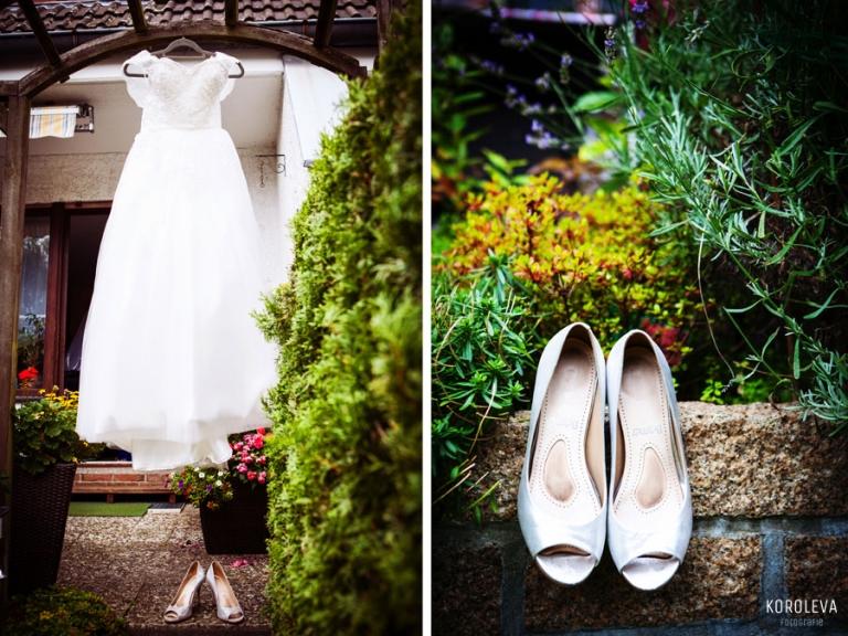Braut Kleid Hochzeitsfotograf Vorbereitung