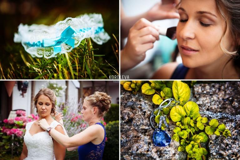Vorbereitung Hochzeitsfotograf Berlin Braut