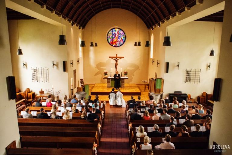 Kirchliche Trauung Hochzeitsfotograf Rudow