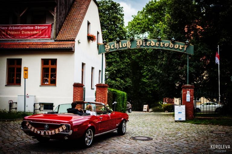Schloss Diedersdorf Hochzeitsfotograf Hochzeit