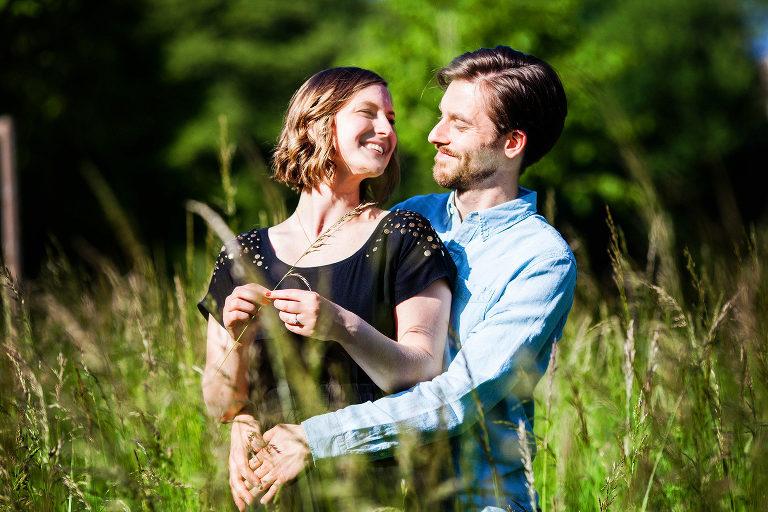 Love-Story, Verlobung, Fotoshooting, Brautpaar